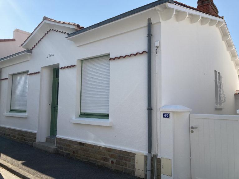 Rénovation maison Sablaise quartier Arago aux Sables d'Olonne