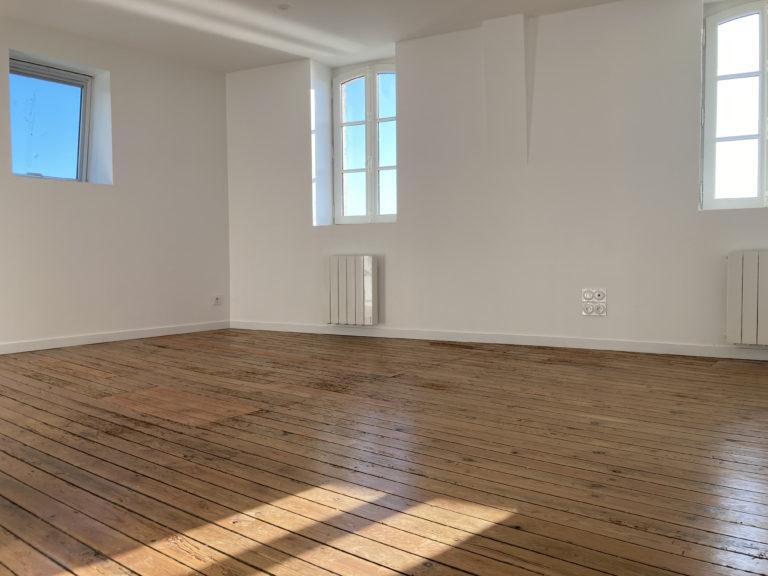 Rénovation appartements sur le quai de la Chaume aux Sables d'Olonne